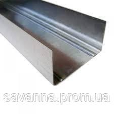 Профиль UW 100х40х0.5мм усиленный 4м