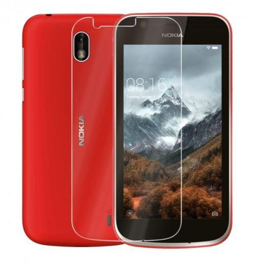 Защитное стекло Nokia 1 (0.3 мм, 2.5D, с олеофобным покрытием)