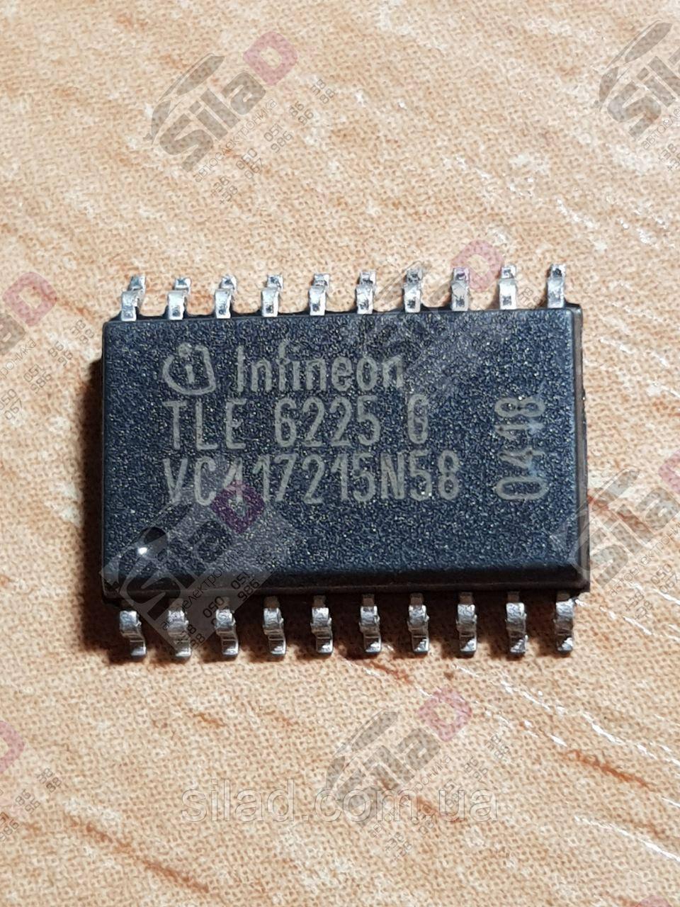 Микросхема TLE6225G Infineon корпус SOP20