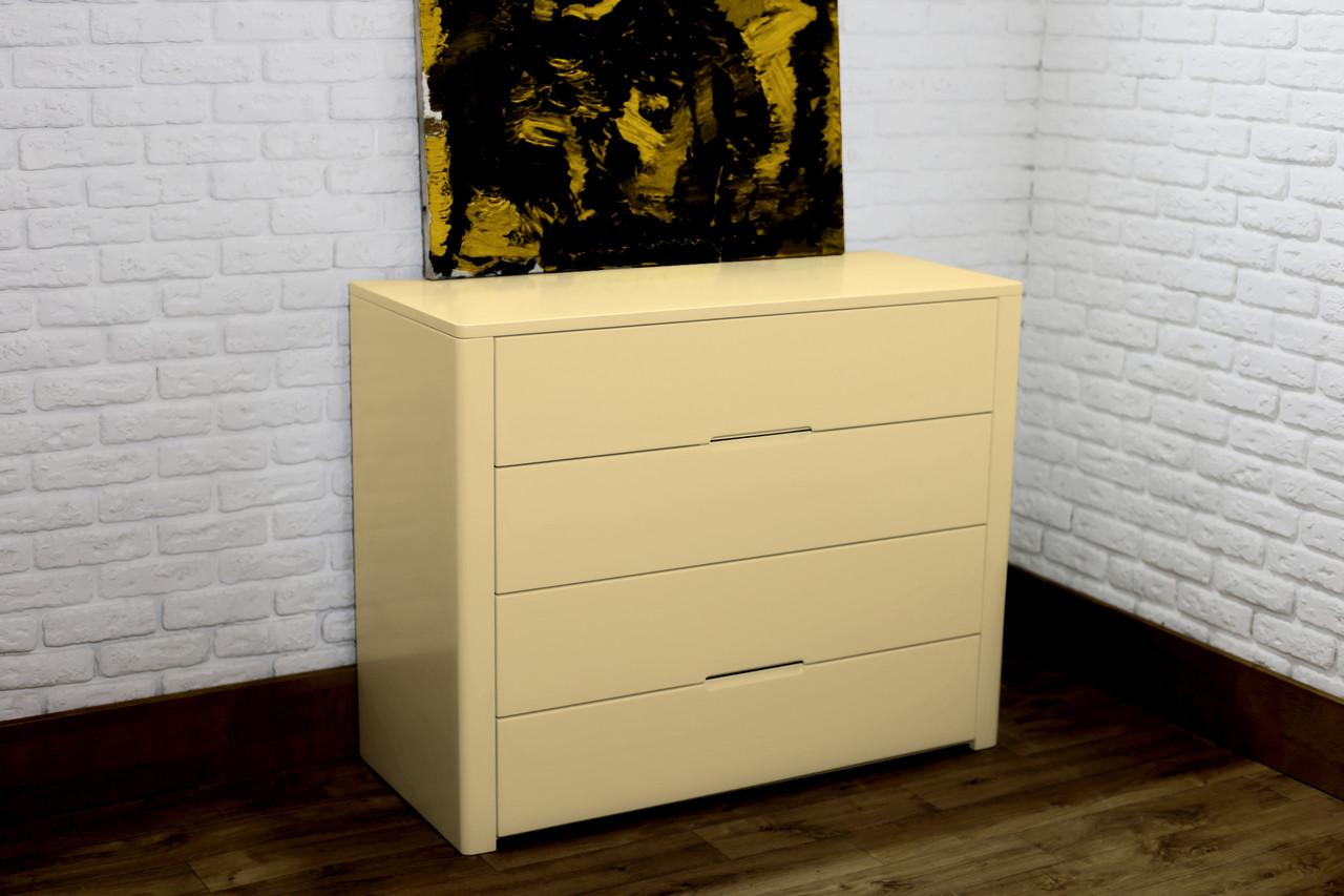 """Новий комод """"Орео-2"""" з дерева Пісочно-жовтий колір"""