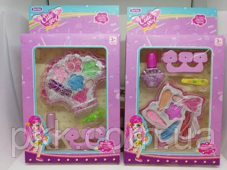Дитячий косметичний набір Cute girl cosmetics Series Кошик 6605-10