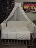 Постільний комплект в дитяче ліжечко, фото 3