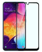 Защитное стекло Samsung M305 (2019) Galaxy M30 Full Glue (0.3 мм, 2.5D) чёрное