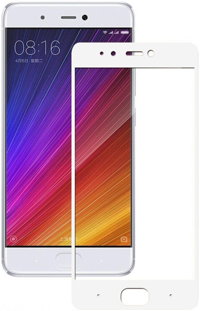 Защитное стекло Xiaomi Redmi 5 Full Glue (0.3 мм, 2.5D) белое