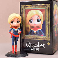 Фигурка-статуэтка q posket Marvel: Капитан Марвел / Мисс Марвел / Captain Marvel / Ms. Marvel 15см