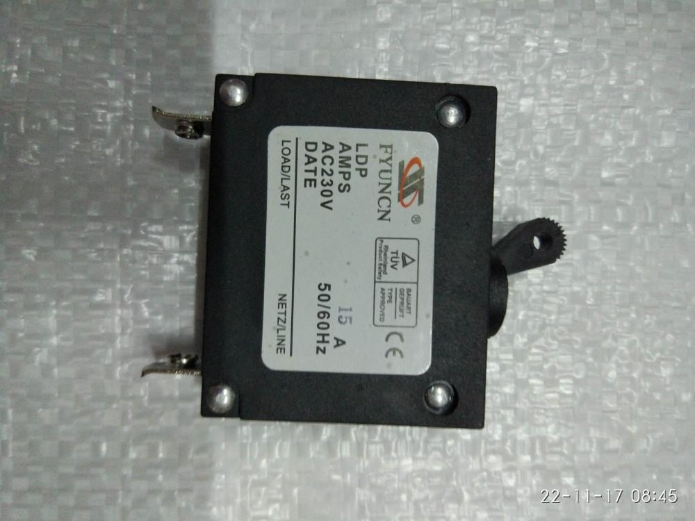 Генератор Вмикач генератора 15А 230 вольт