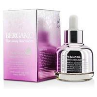 Сыворотка с экстрактом муцина улитки BERGAMO Pure Snail Whitening Ampoule(30ml)