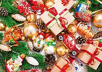 """Пакет для подарков бумажный новогодний """"Гигант горизонтальный"""""""
