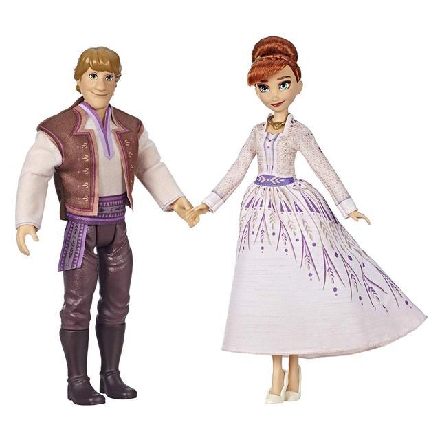 Набор Disney Frozen Anna & Kristoff Fashion Dolls