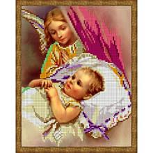Вышивка схема бисером, Канва Ангелы Ангел хранитель