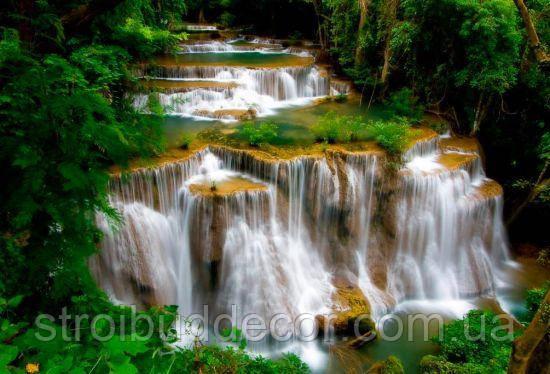 Фотообои водопад текстуры , индивидуальный размер