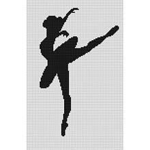 Наборы для вышивания крестом Luca S Балерина