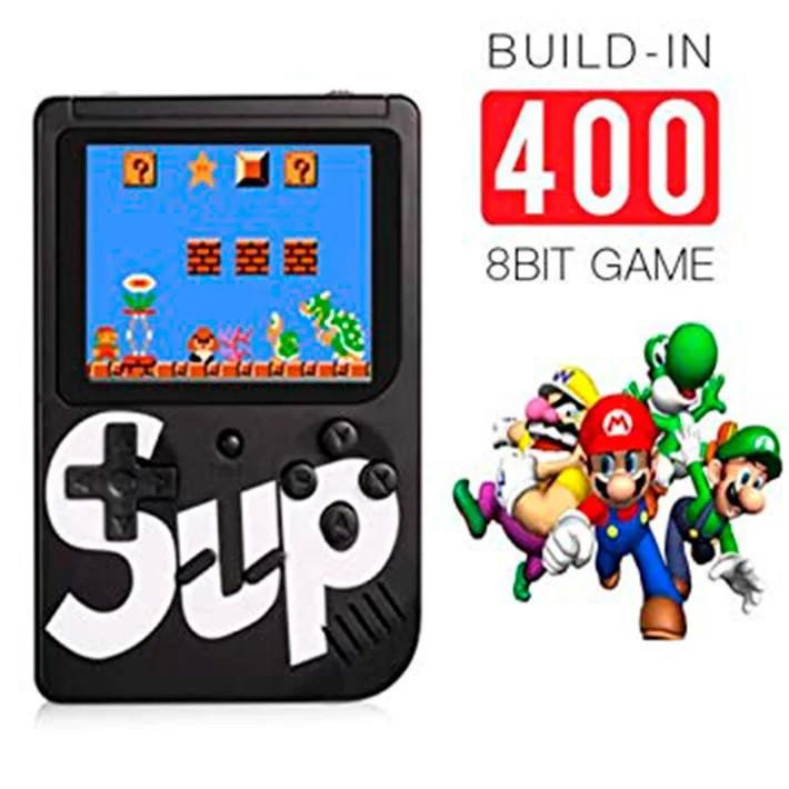 Карманная приставка Sup Game box 400 in 1. Игровая портативная консоль
