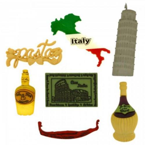 3576 Декоративные пуговицы. Итальянский стиль