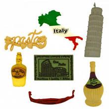 3576 Декоративні гудзики. Італійський стиль