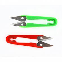 Ножиці для обрізки нитки пластикова ручка середні 14 см