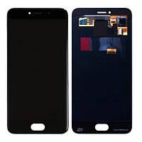 Дисплей Meizu Pro 6 / Pro 6S SuperAmoled complete Black