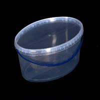 Ведро пластиковое пищевое, для меда 5,6 л., фото 1