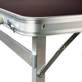Усиленный Стол для пикника + 4 стула, складной стол - чемодан