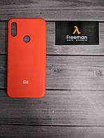 Чехол накладка Silicone Case для Xiaomi Redmi Note 7