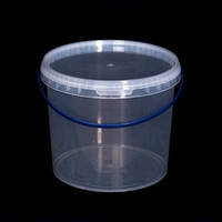 Ведро пластиковое пищевое, для меда 5 л., фото 1