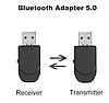 Адаптер Bluetooth 5.0 аудио приемник-передатчик 2в1 блютуз