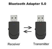 Адаптер Bluetooth 5.0 аудио приемник-передатчик 2в1 блютуз, фото 1