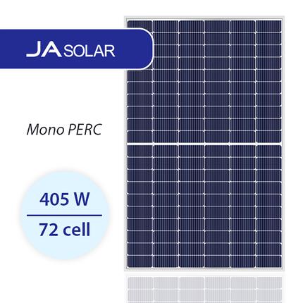 Солнечная панель JA Solar JAM72D10-405/MB 405 Вт, Mono MultiBusBar, фото 2