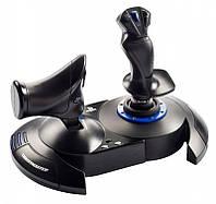 Джойстик игровой для ПК управление самолетом Thrustmaster T-Flight Hotas 4 PC/PS4 авиасимулятор штурвал