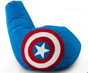 Кресло мешок груша Капитан Америка