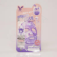 Тканевая маска для матирования и осветления кожи ELIZAVECCA Fruits DEEP POWER RINGER MASK PACK - 23 мл