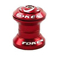 Рулевая колонка Token TK667N-Red (внешняя A-Head) красная, фото 1