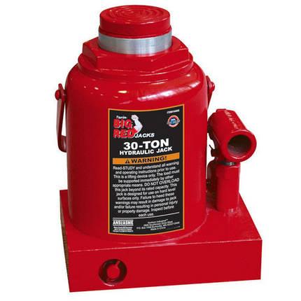 Домкрат бутылочный HEAVY DUTY 30т 230-360 мм   TORIN  T93004D, фото 2