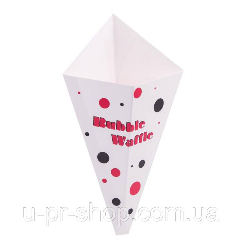 Упаковка для вафель с логотипом от 1000 шт.