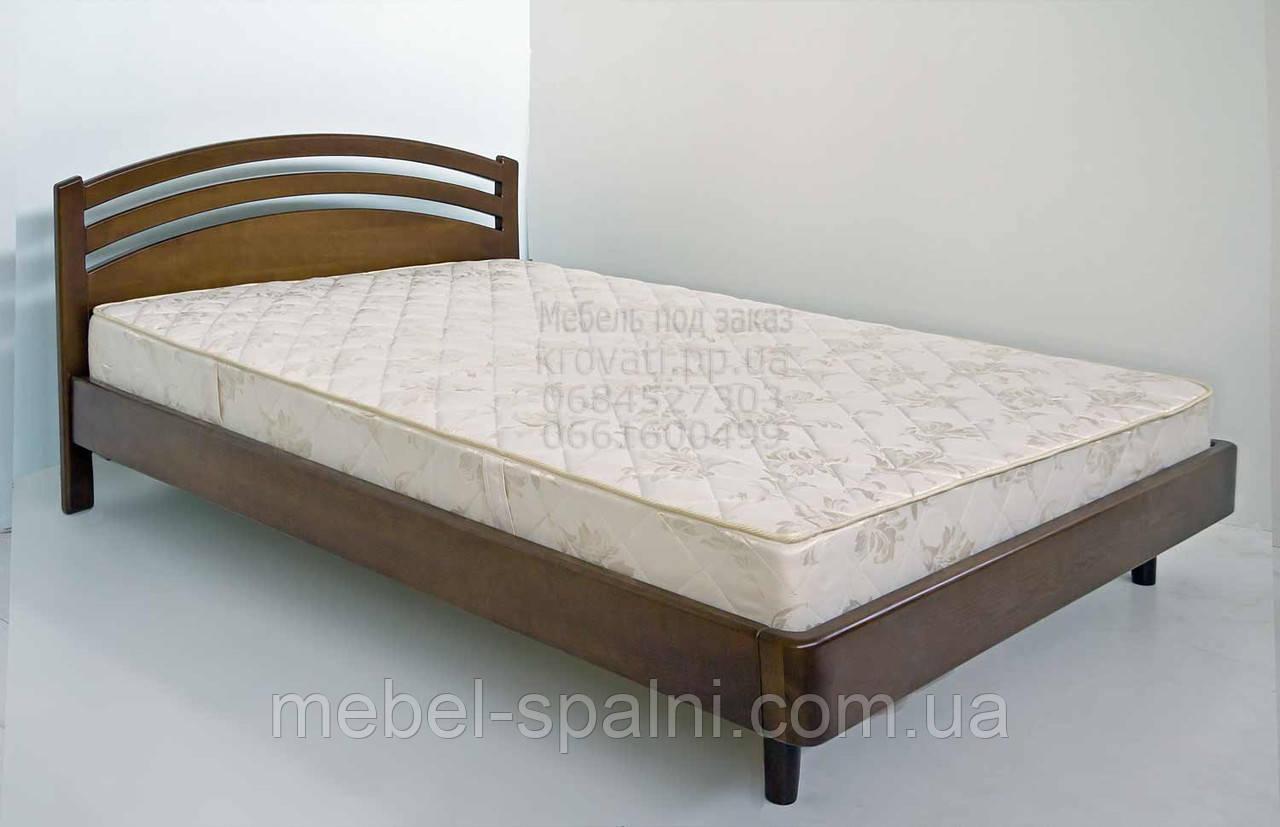 """Кровать в Полтаве деревянная полуторная """"Натали"""" kr.nt2.1"""