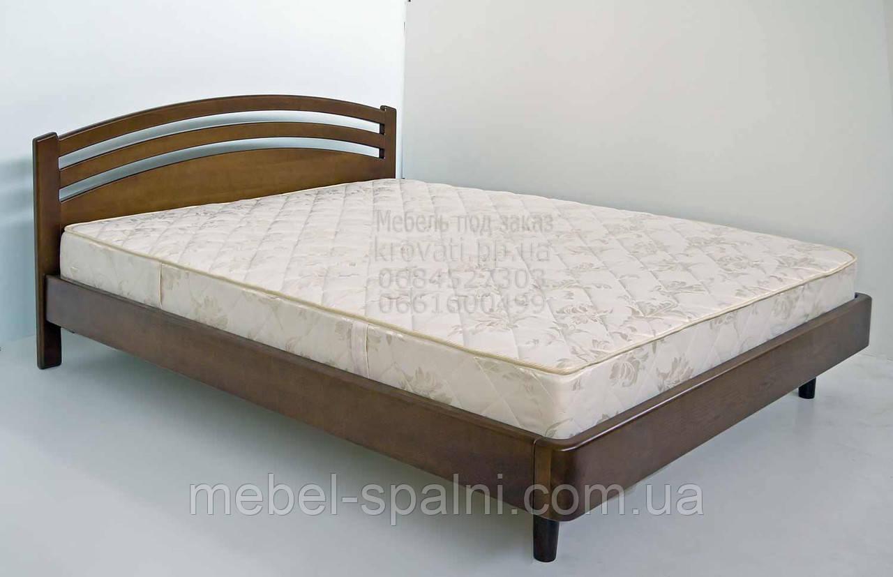 """Кровать в Полтаве деревянная двуспальная """"Натали"""" kr.nt3.1"""