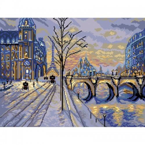 Наборы для вышивания крестом Матренин Посад Пейзаж Виды Парижа