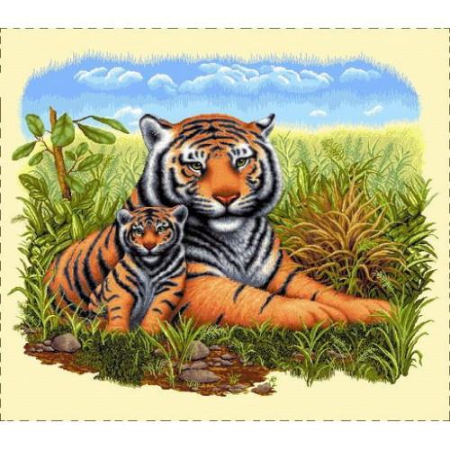 Наволочка Тигри