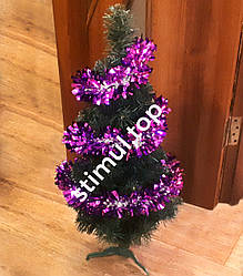 Елка искусственная ПВХ 75 см ▶ Зелёная новогодняя ель 0.75 м ▶ Ялинка штучна