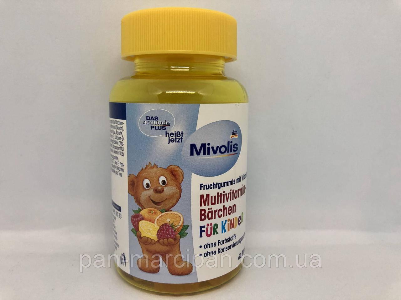 Вітаміни DM Mivolis Multivitamin-Barchen fur Kinder 60 шт 120г