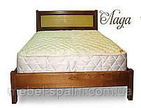 """Кровать в Черкассах деревянная односпальная """"Лада"""" kr.ld1.1"""