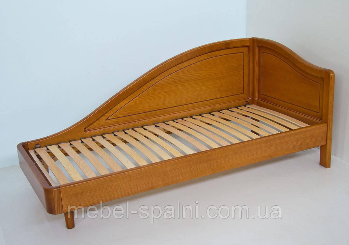 """Кровать в Черкассах деревянная односпальная """"Анна"""" kr.an1.1"""