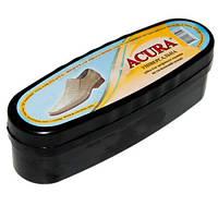Губка-блеск для обуви Acura бесцветная средняя