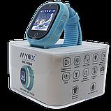 Детские смарт-часы GPS MYOX МХ-06BW Blue с камерой для детей, фото 2