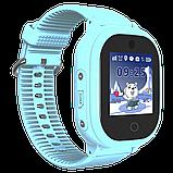 Детские смарт-часы GPS MYOX МХ-06BW Blue с камерой для детей, фото 3