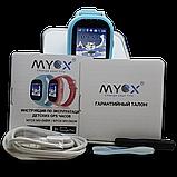 Детские смарт-часы GPS MYOX МХ-06BW Blue с камерой для детей, фото 5