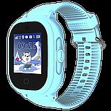 Детские смарт-часы GPS MYOX МХ-06BW Blue с камерой для детей, фото 6