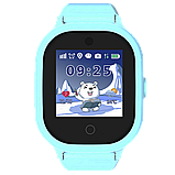Детские смарт-часы GPS MYOX МХ-06BW Blue с камерой для детей, фото 7