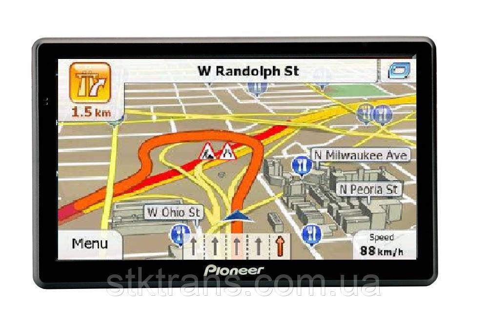 GPS навигатор Pioneer X75 Black (xp_10075)