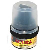 Крем для обуви Acura черный